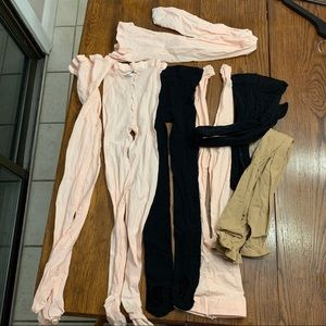 7 Pairs of Dance Tights Bundle